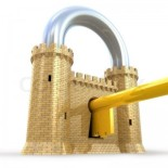 1447942-254700-security-concept-padlock-as-fortress-isolated-on-white-300x300